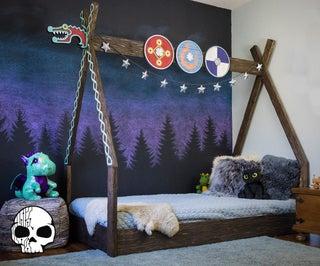 How to Make a Kids Montessori Bed