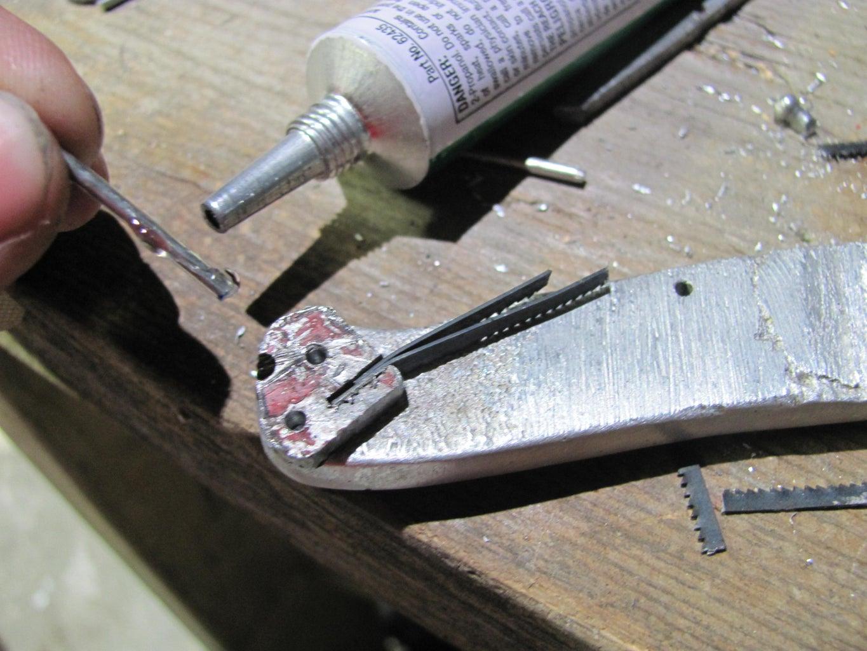 Cut Pins and Glue