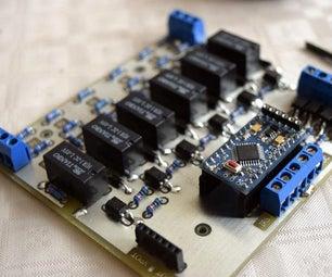 Arduino Passive Preamp With Remote, Attenuator and Channel Selector