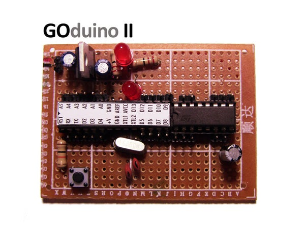 GOduino II = Arduino + L293D Variable Speed Motor Controller