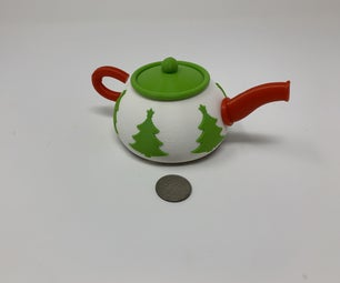 Robotic Christmas Teapot