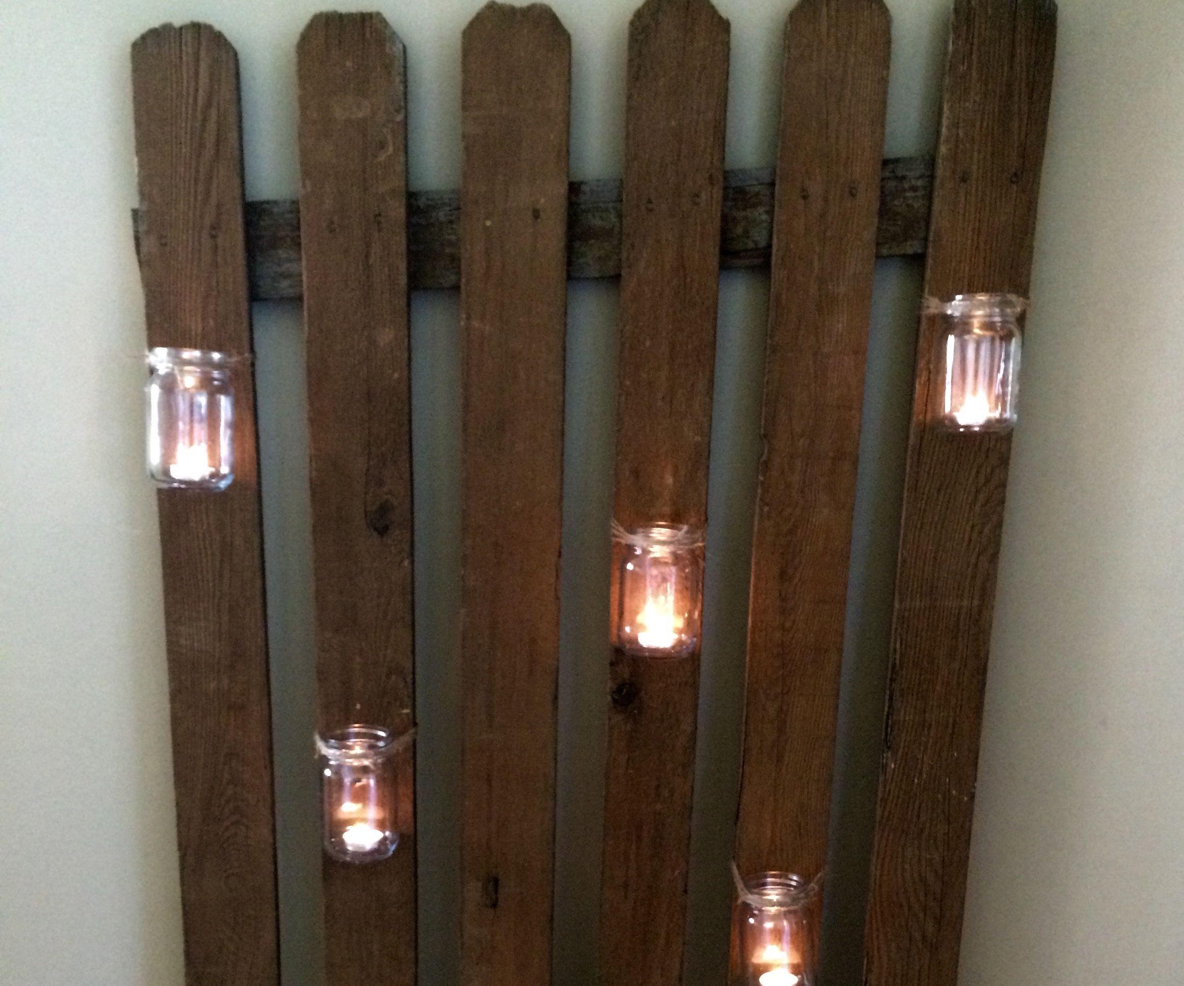 Picket Fence Lighting