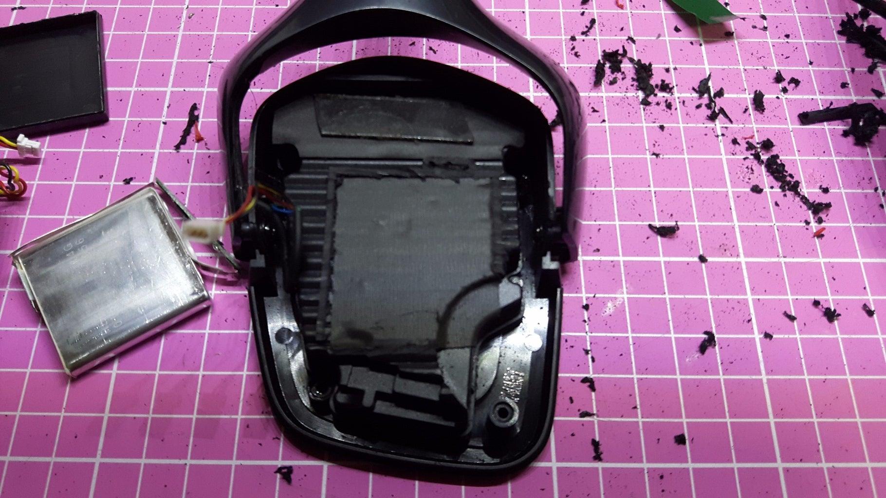 Cut the Battery Holder