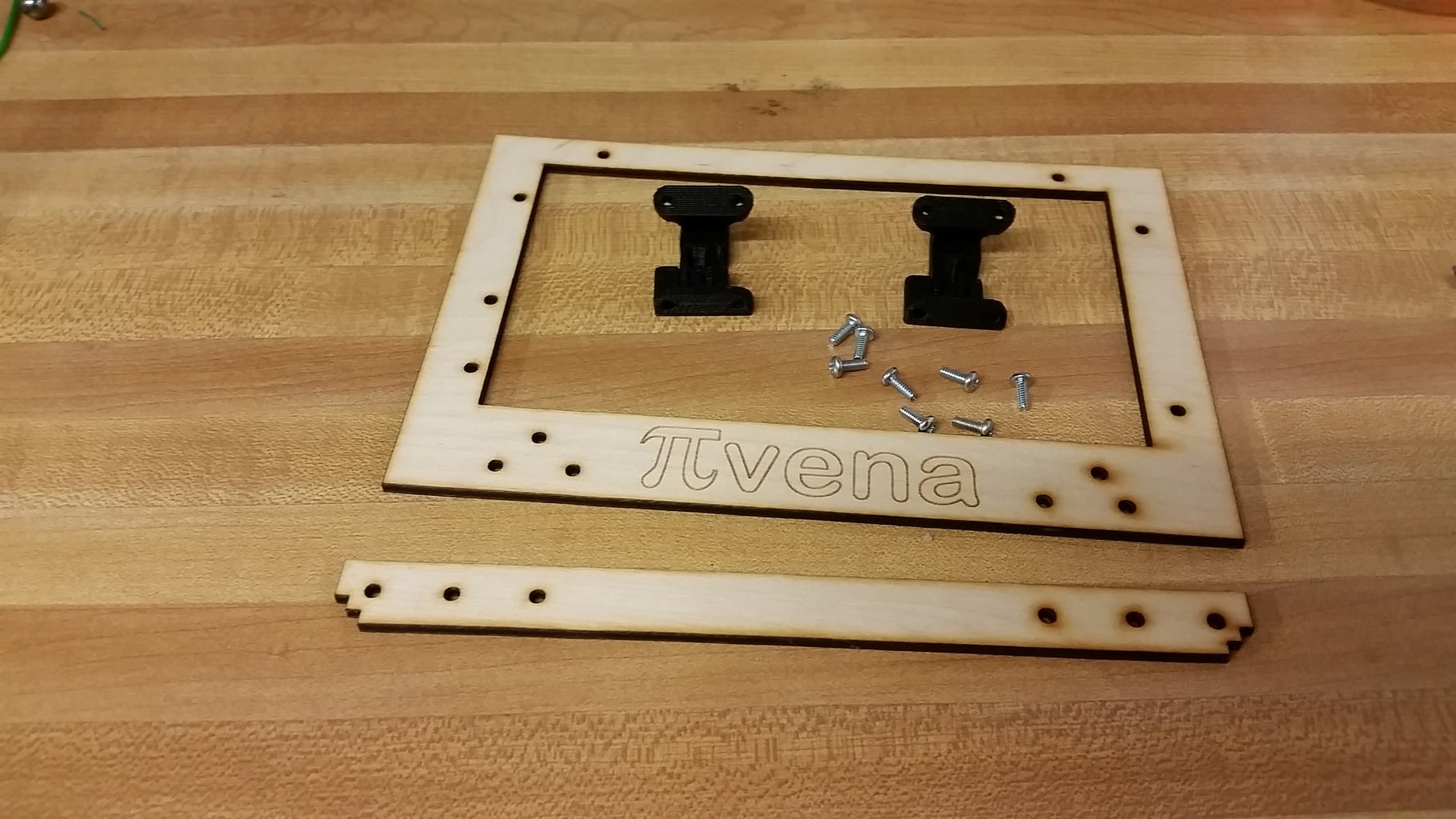 Display Bezel and Hinges