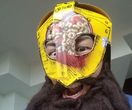 Super Simple Cereal Box Viking Helmet