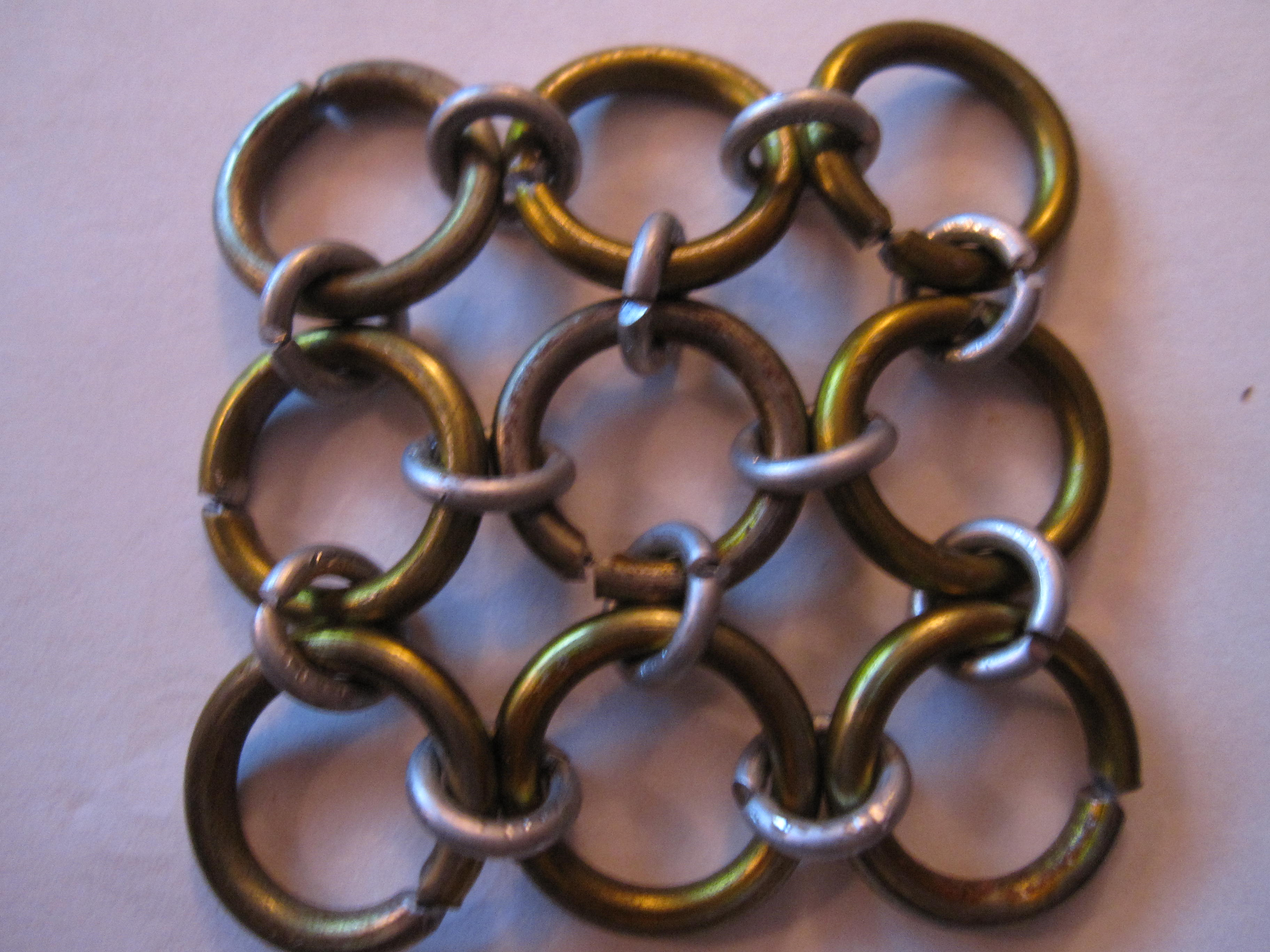 How to Make Japanese 4-1 Maille (Speedweaving)