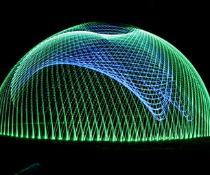 LED RGB Light Painting Light Spinner