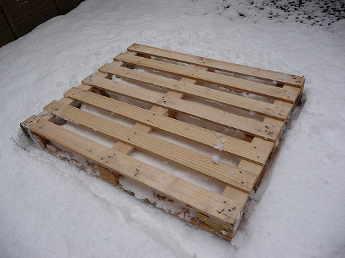 How to make a sledge out of wooden palette