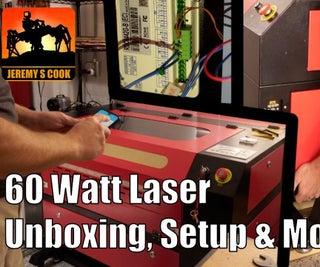 Laser Cutter Setup [60 Watt, CO2]