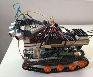 Johnny5 Arduino Robot DfRobotshop Rover With Remote Control Html Interface