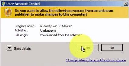Install Audacity