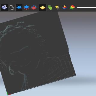 Hi-Res 2D Image to 3D Surface