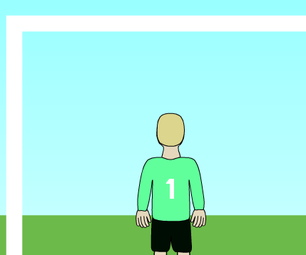 Scratch Goalkeeper Movement - Jumping - Blocking - Programming