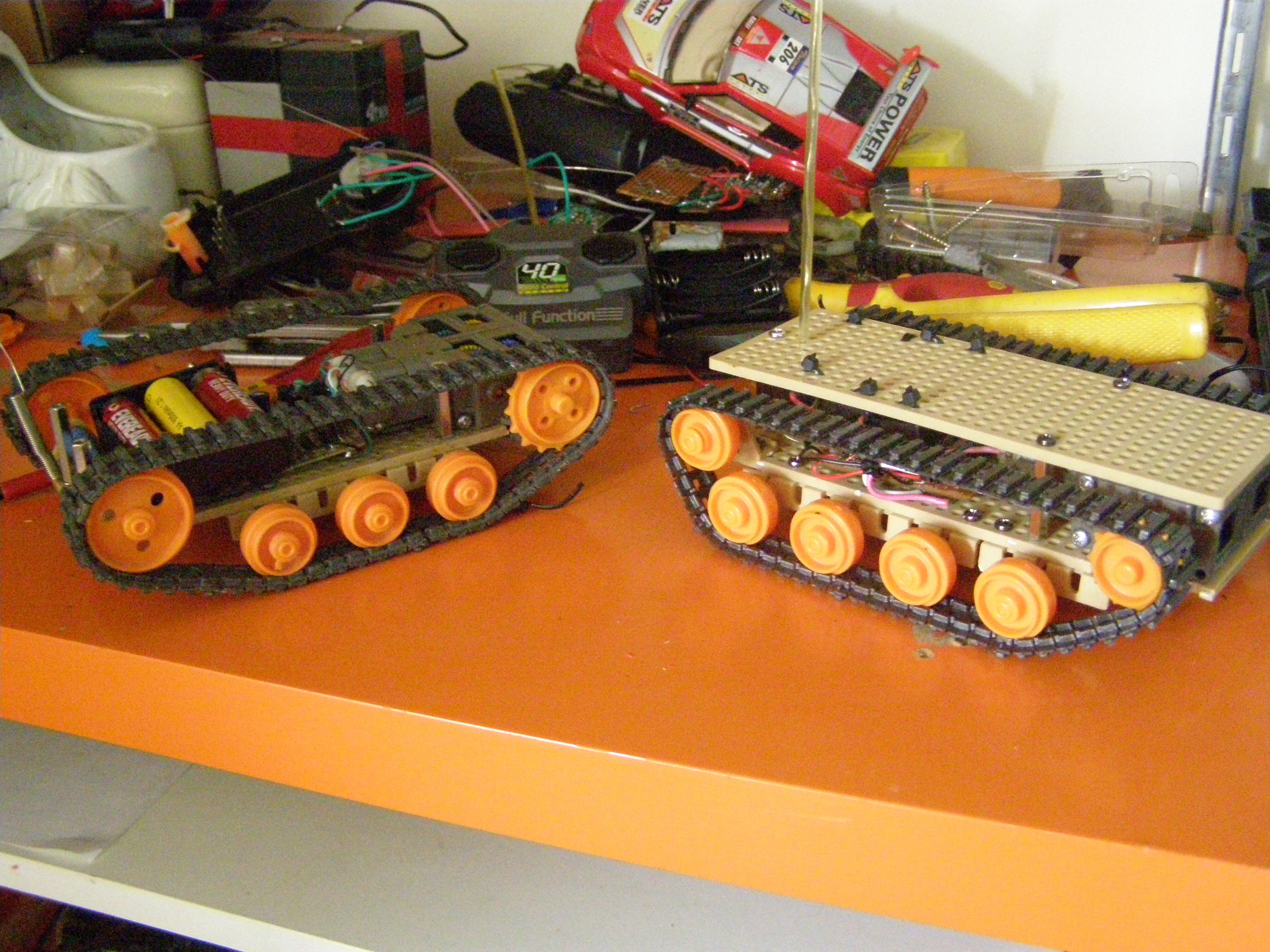 Tank Platform