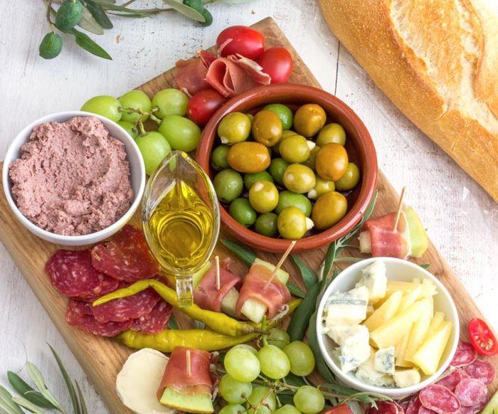 Mediterranean Antipasti Platter
