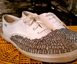 Funky Feathered Keds