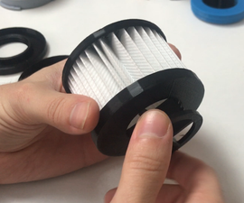 DIY Universal HEPA Filter Prototype Made With Open Source 3D Printed Parts
