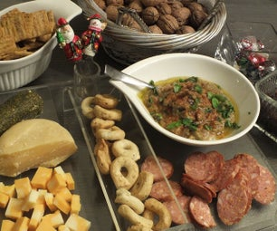 Charcouterie Table