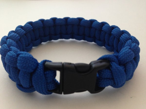 Paracord Bracelet With Side Release Buckle... EASY