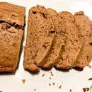 Whole Wheat Chocolate Banana Bread (Eggless)