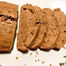 Whole Wheat Chocolate Banana Bread (Eggless)