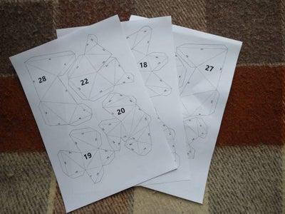 Printing of Papercraft Scheme