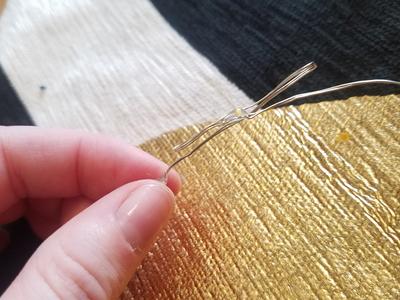 Stitching Fairy Lights