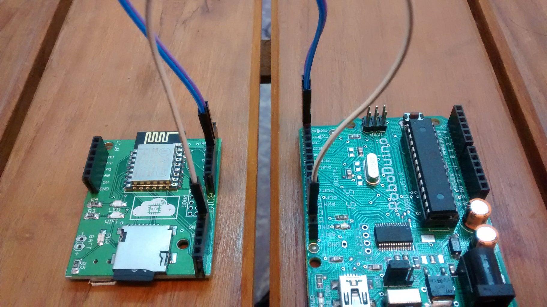 Interfacing Bolt With Arduino