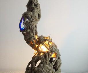 Lamp With Sensors - Sound/Piezo // RF Communication