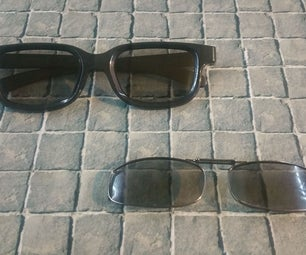 3D Glasses Clip-on