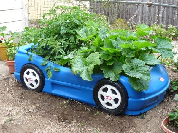 Race Car Veggie Box