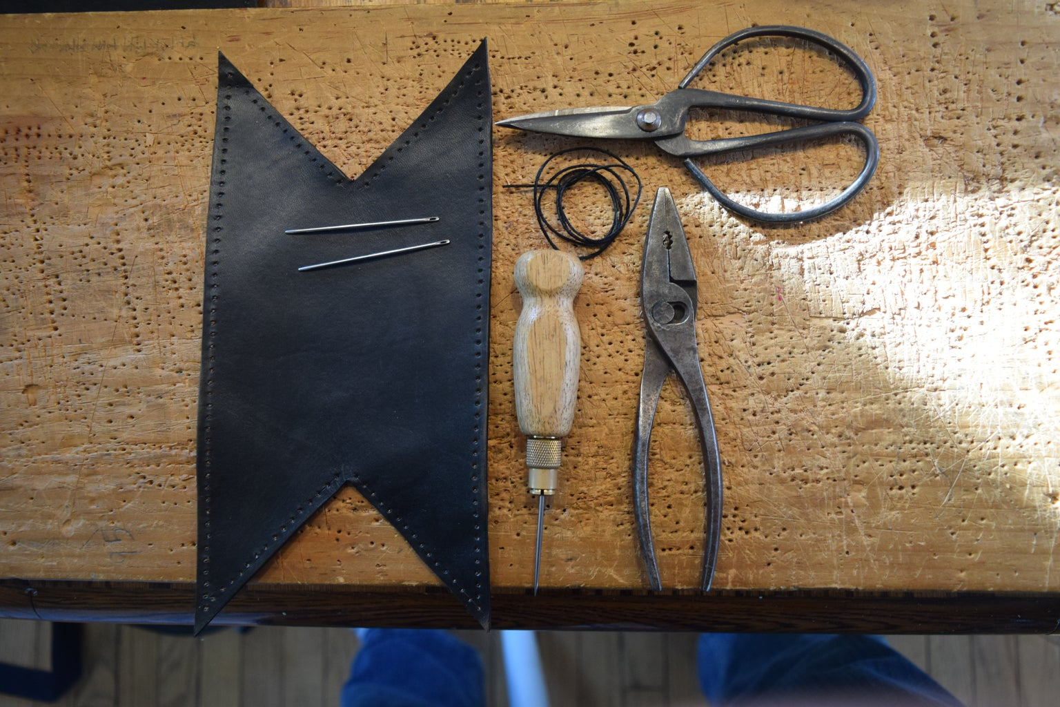 """Prepping the """"Heel"""" With the Baseball Stitch"""