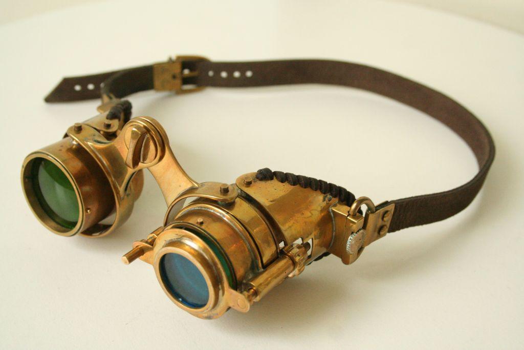 """Steampunk goggles """"N-Axis"""""""