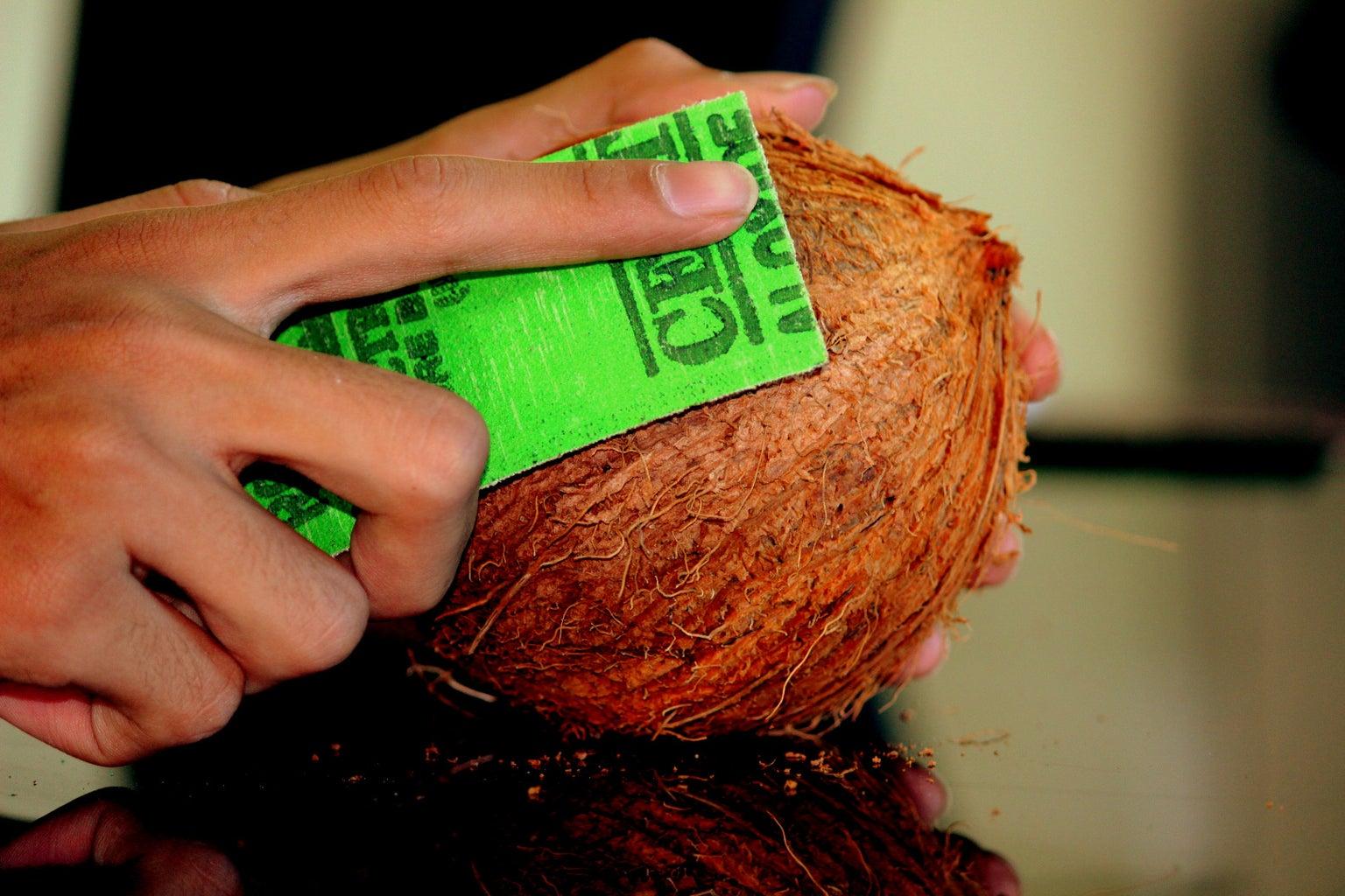 Prepare the Coconut