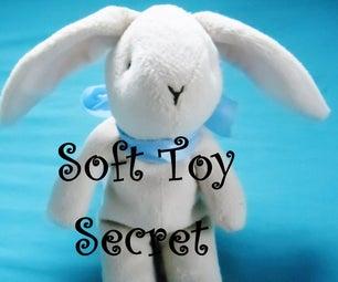 Soft Toy Secret Compartment