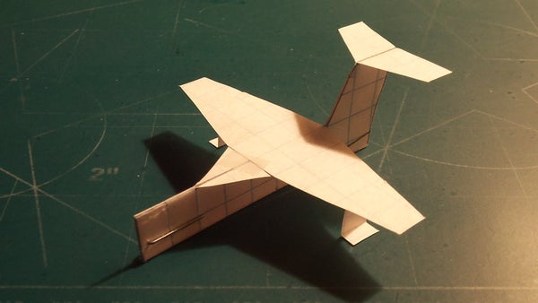 How to Make the StratoCruiser Paper Airplane