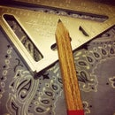 Oak Carpenter's Pencil