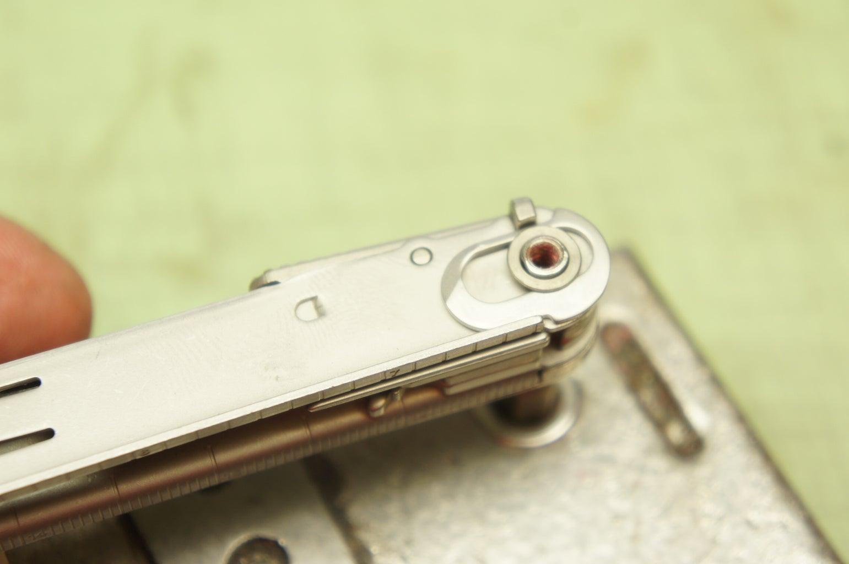 Re-insert Pin (side B)