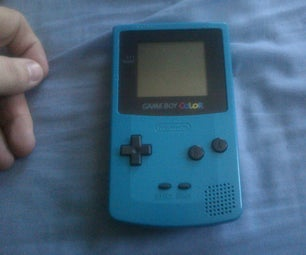 Solar Power Your Gameboy Color (updated)