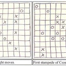 Pen and paper game - Stampede.