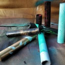 Experimenting With Spraypainting Pipes