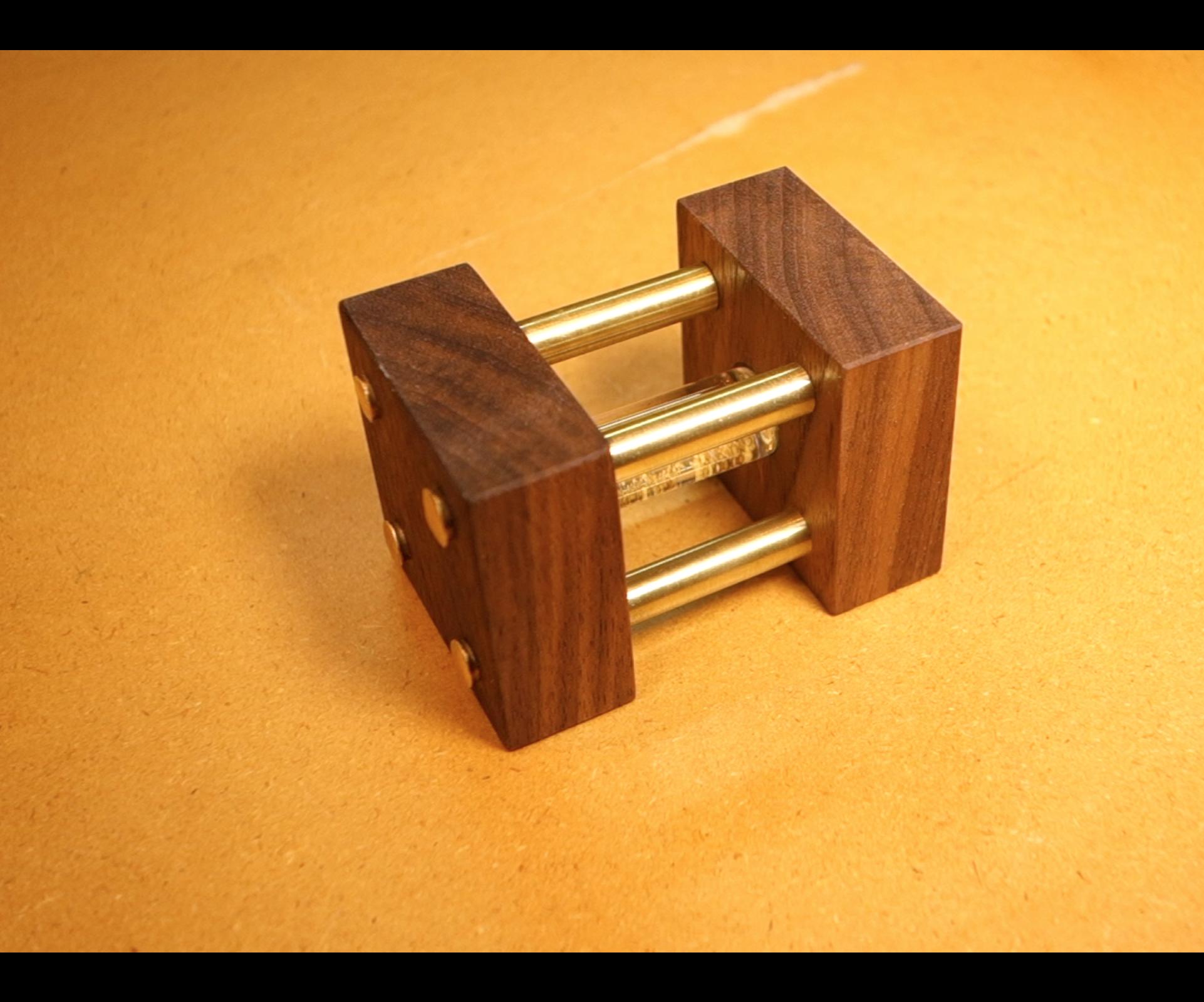 Make It - Gold / Glass Vial Holder