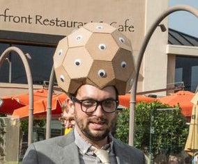 BuckMonster Fuller Costume