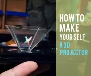 3D Hollogram Projector