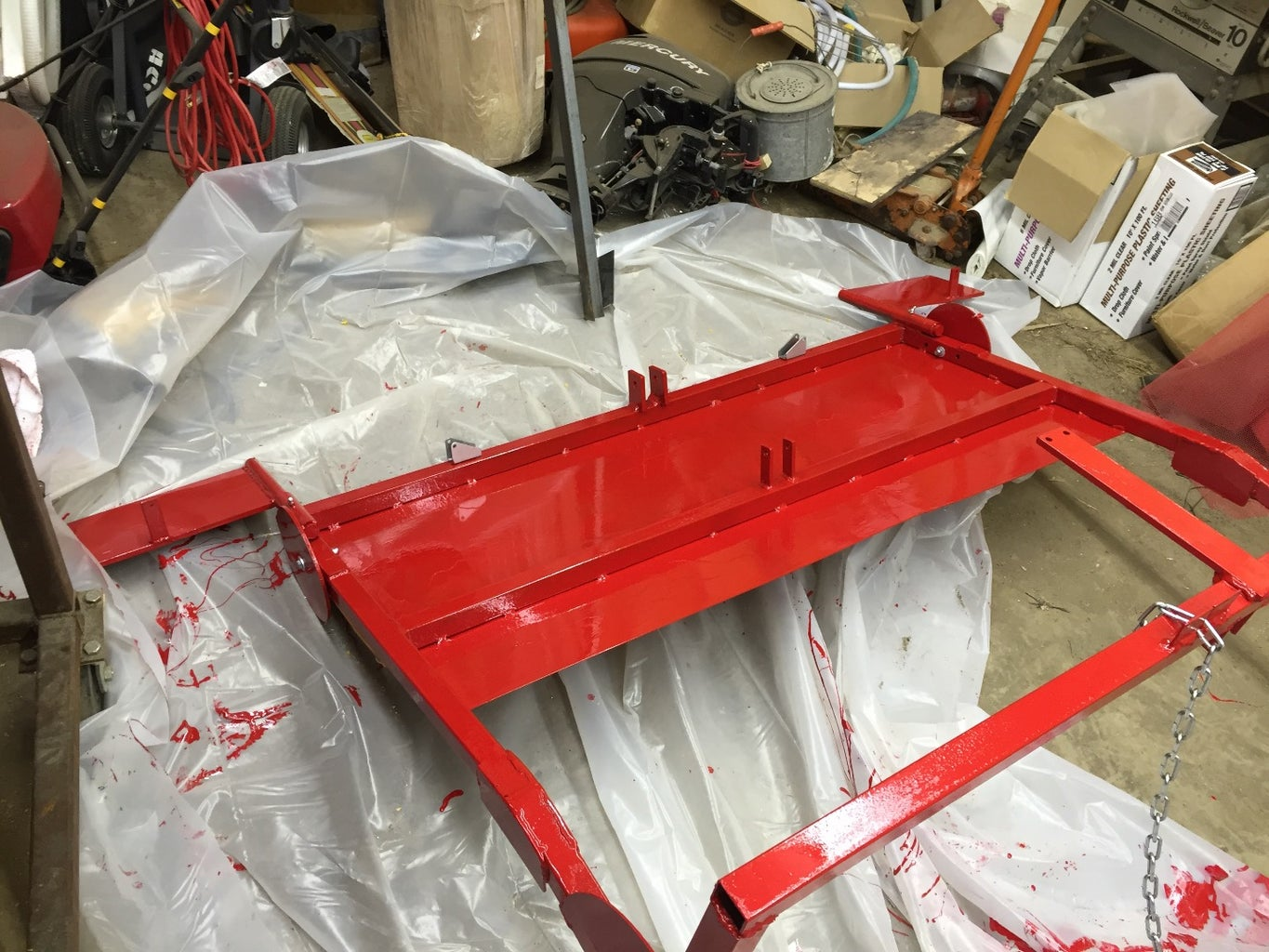 Step 1 the Frame and Hitch