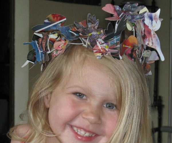 Paper Butterfly Garland (Silhouette Portrait Cutter Project)