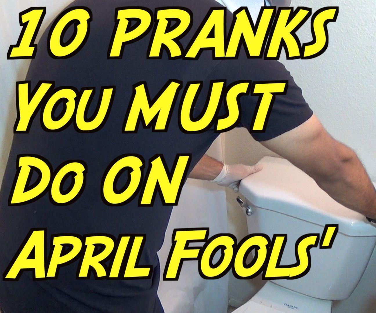 10 Simple April Fools' Day Pranks - HOW TO PRANK