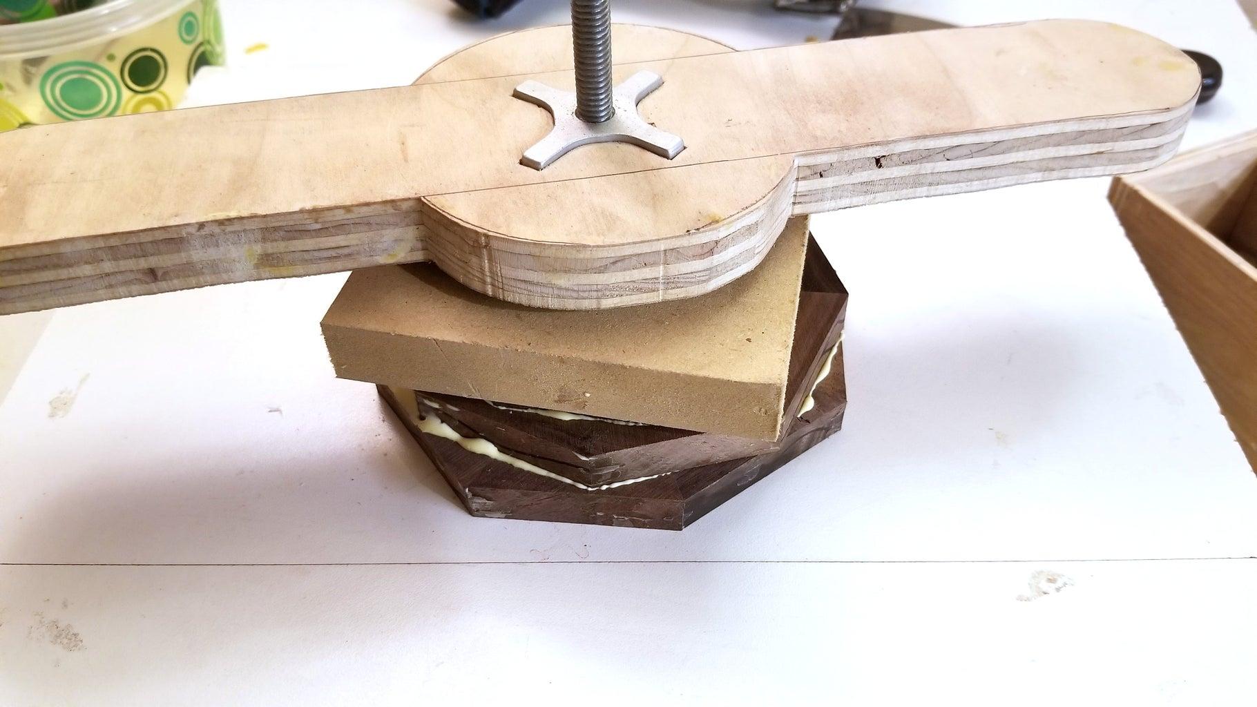 Glue Half Circles