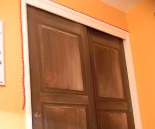 Trompe L'oeil Door