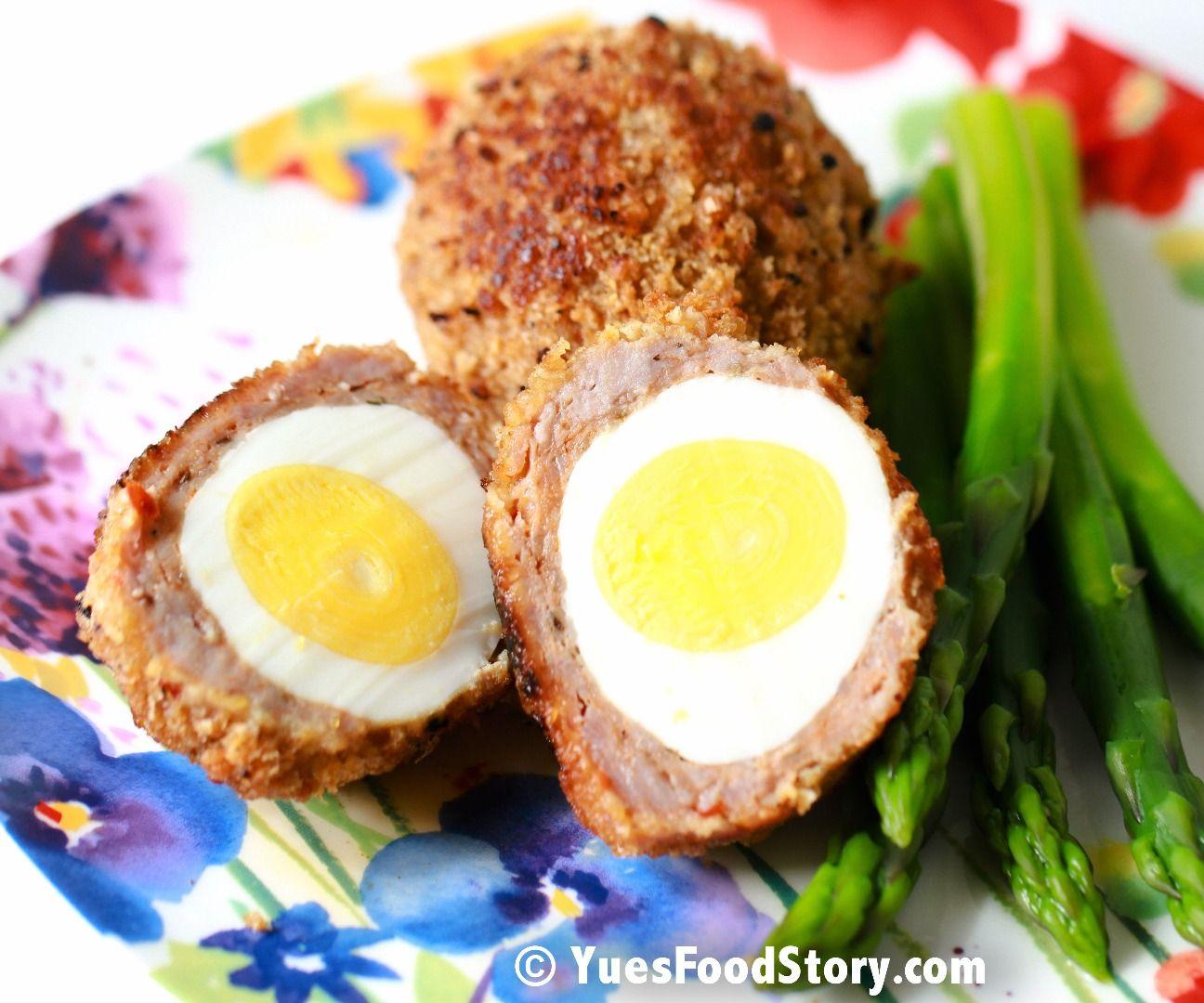 Baked/Fried/Pan Fried Scotch Egg